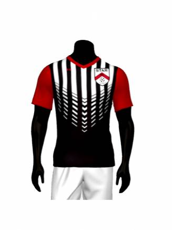 AA Men's Sublimated Jersey - Star Soccer Club