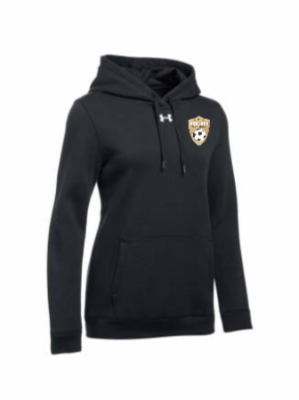 UA Women's Hustle Fleece Hoody