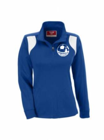W's Elite 1/4 Zip Poly Jacket