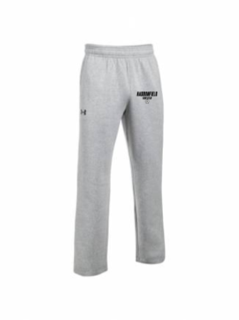 UA M's Hustle Fleece Pants