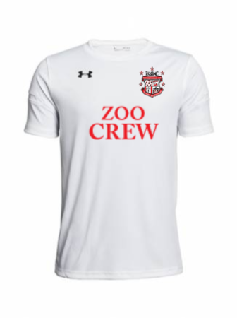 UA Youth Golazo 2.0 Jersey - UA White
