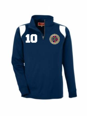 M's Elite 1/4 Zip Poly Jacket