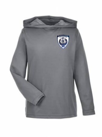 M & Youth Poly Zone Performance Hoodie