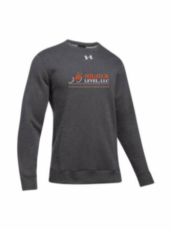 UA Men's Hustle Fleece Crew