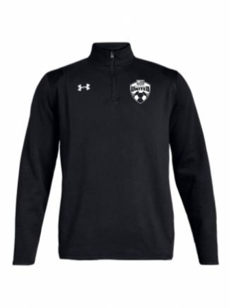 UA M's Hustle Fleece 1/4 Zip