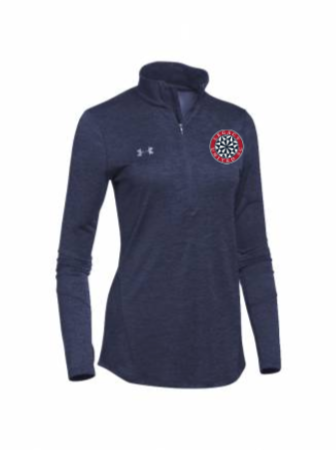 UA Women's Novelty 1/2 Zip (Only Available in AS, AM)