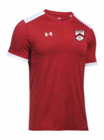 UA Men's Threadborne Match Jersey - Red