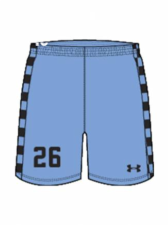 AA Men's Sublimated Short - Real Arkansas Primary