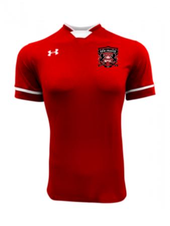 UA Women's Squad Jersey - UA Red/White