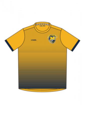 Inaria Custom Jersey - Youth, Men's, Women's - Manorville Away Jersey Yellow