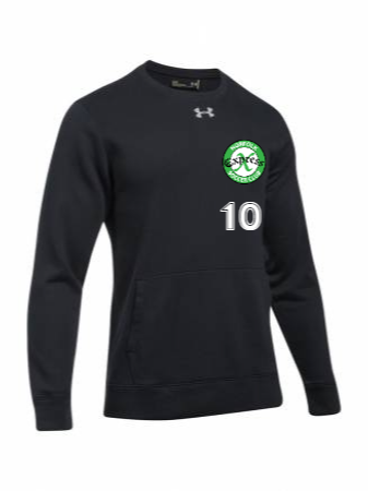 UA Men's Hustle Fleece Crew