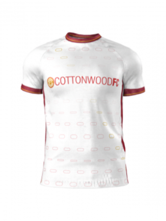 Admiral Men's/Yth. Custom Jersey - Cottonwood Custom WHITE - Away