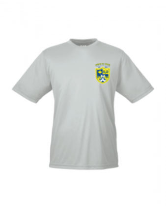 Men's and Youth's Performance SS tee - Silver