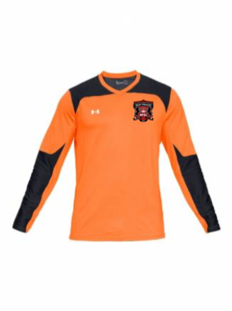 UA Youth Threadborne Wall GK Jersey