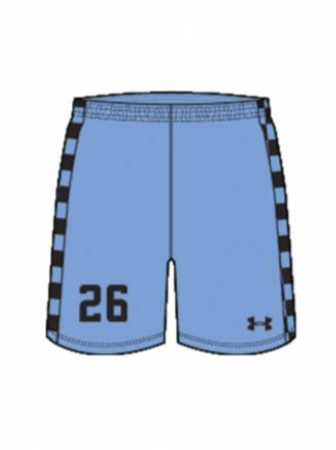 AA Youth Sublimated Short - Real Arkansas Primary