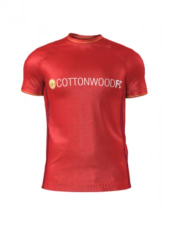 Admiral Men's/Yth. Custom Jersey - Cottonwood Custom RED - Home