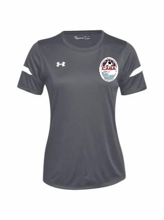 UA Women's Golazo 2.0 Jersey - UA Graphite
