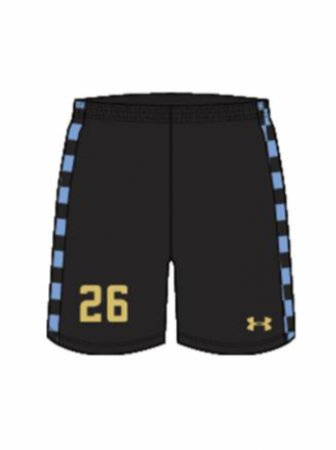 AA Youth Sublimated Short - Real Arkansas Conflict