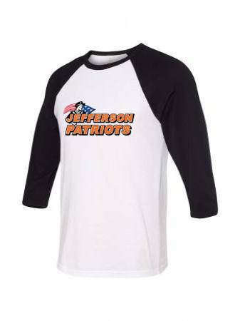 50/50 Unisex Baseball Tee