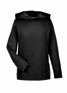 M amp Youth Poly Zone Performance Hoodie