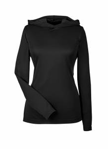 Womens Poly Zone Performance Hoodie