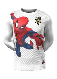 Admiral Spiderman Long Sleeve Character Tee
