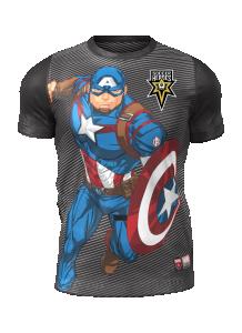 Admiral Captain America Short Sleeve Character Tee