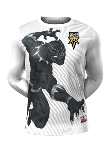 Admiral Black Panther Long Sleeve Character Tee