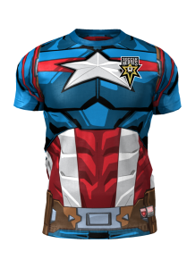 Admiral Captain America Body Suit