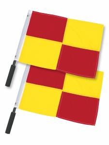 CHECKERED FLAGS SET OF 2